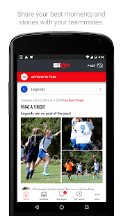 SI Play - Sports Team Management Free App- screenshot thumbnail