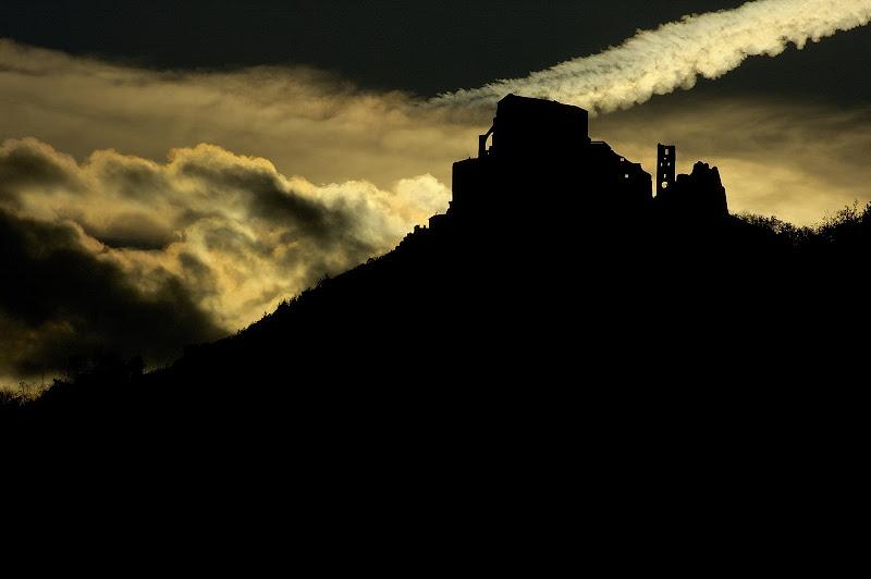 Sacra al tramonto di Keper