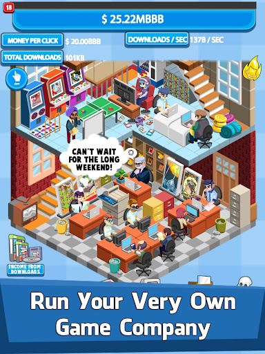 Video Game Tycoon - Idle Clicker & Tap Inc Game  mod screenshots 1