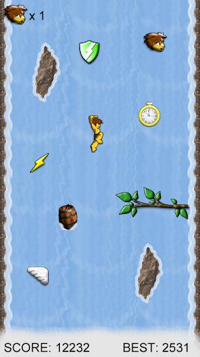 Wall Jump Waterfall Free screenshot