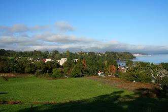 Photo: Vista da parroquia de Moruxo (2012)
