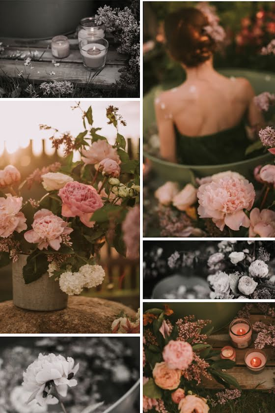 Wild Flowers Collage - Pinterest Pin Template