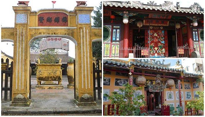 Ảnh: chùa, đền, miếu, đình làng hội an