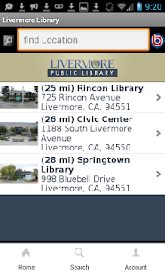 Livermore Public Library- screenshot thumbnail