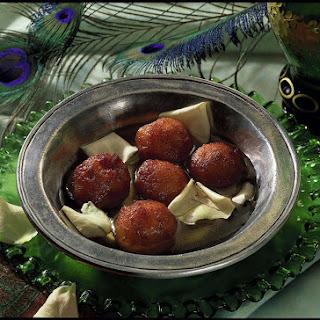 Gulab Jamun - Sweet Indian Fritters.