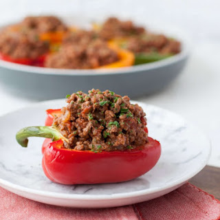 Low Carb Sloppy Joe Stuffed Peppers Recipe