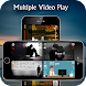 Multiple Video Player - Androidアプリ