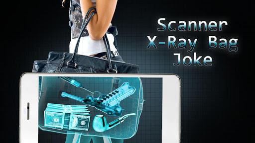 扫描仪的X射线袋笑话