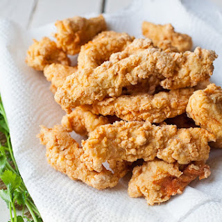 Crispy Fried Chicken Tenders.