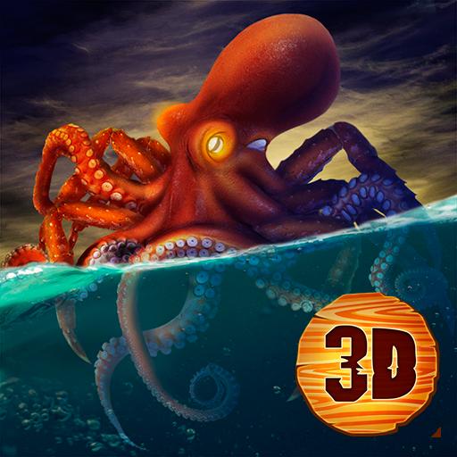 Kraken Sea Monster Simulator