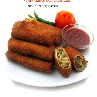 Chicken Roll White Sauce Recipes