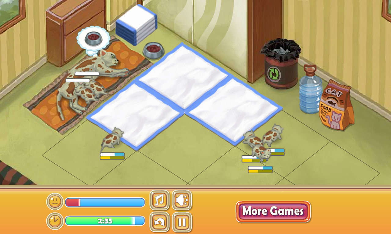 Baby Pet Nursery, Caring Game- screenshot