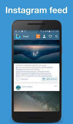 EzRepost+ Repost for Insta 1.0.5 screenshots 1