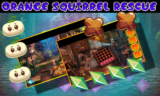 Best Escape Games  33 Orange Squirrel Rescue Game 1.0.0 screenshots 2