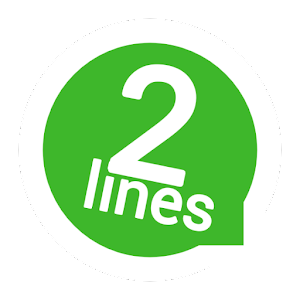 Image result for 2lines for whatsapp