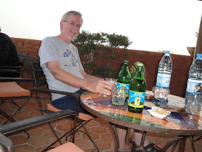 Photo: Dr. Dudley on a Faculty Development trip to Senegal 2010