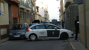 Dispositivo de la Guardia Civil en el lugar del crimen
