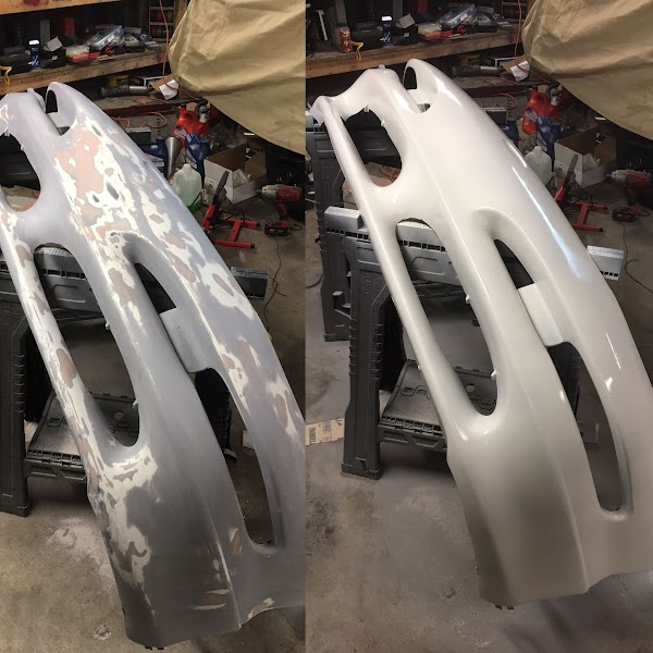 Refinished Bumper