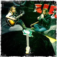 Photo: Waiting to play at the @98WSIX Garage... Will be streaming live at 11:30am on http://wsix.com (Photo: SC via Twitter)