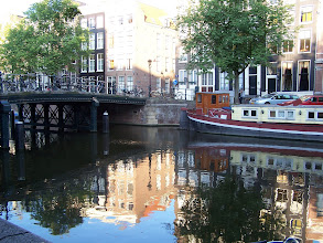 Photo: There were lots of houseboats on the canals