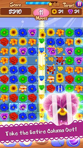 Flower Mania: Match 3 Game apktram screenshots 5