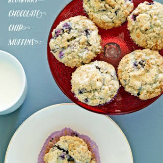 Blueberry Chocolate Chip Muffins Recipes.
