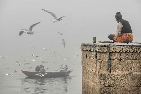 La nebbia sul fiume di Roberto Pazzi Photography