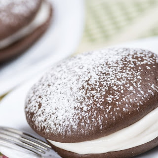 Chocolate Sandwiches with Crème Filling