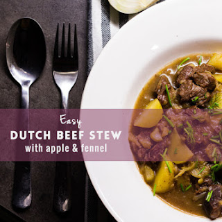 Easy Dutch beef stew with apple and fennel