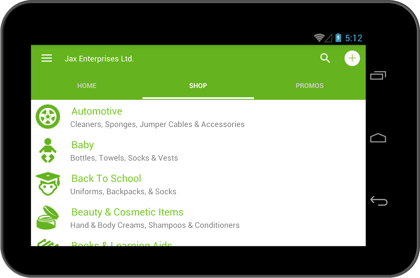 Jax Enterprises Ltd.- screenshot