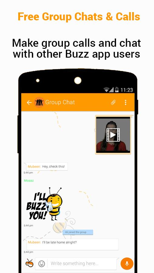Buzz- screenshot