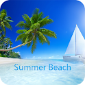 Summer Beach Wallpaper icon