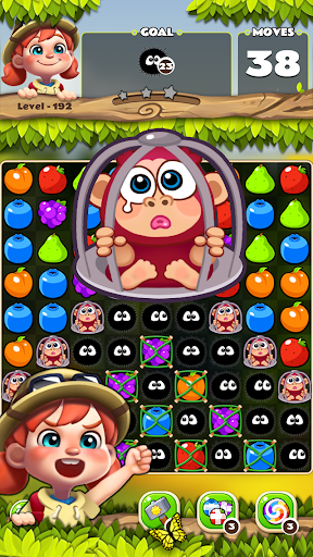Fruits POP : Fruits Match 3 Puzzle android2mod screenshots 6