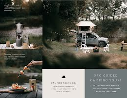 Camping Tours Co - Travel Brochure item