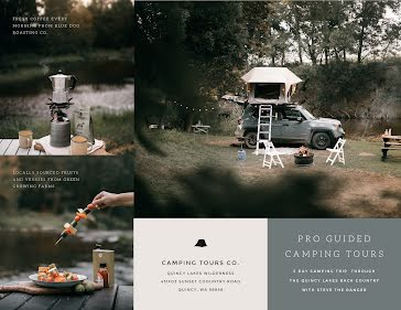 Camping Tours Co - Travel Brochure template