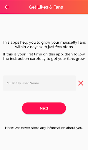 Get fans for Musically - like & Followers for PC