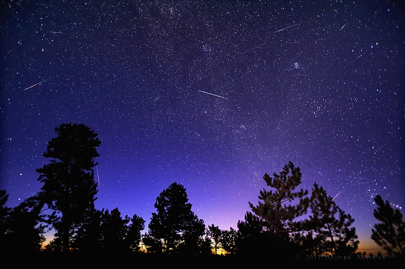 Photo: Morning Meteors of the Perseid Kind