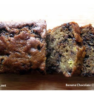 Banana Chocolate Chips Loaf