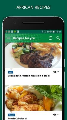 African Recipes - screenshot