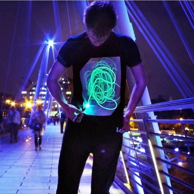 Interactive Glow T-Shirts