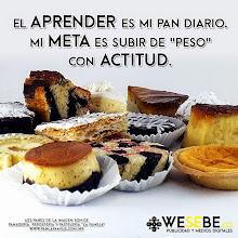"""Photo: El aprender es mi pan diario. Mi meta es subir de """"peso"""" con actitud - DG wesebe.co"""