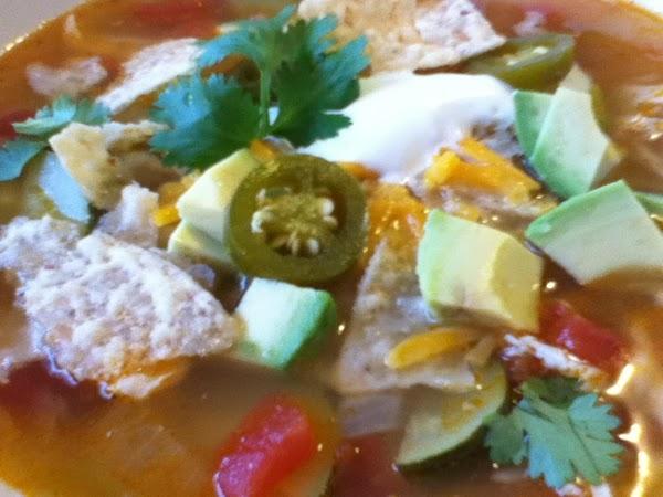 Susan's Tortilla Soup Recipe