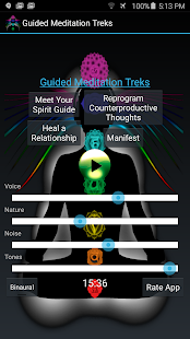 Guided Meditation Treks- screenshot thumbnail