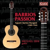 Guitar Works by Agustín Barrios Mangoré