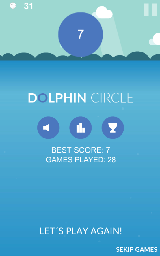 Dolphin Circle- screenshot