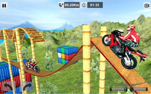 Bike Stunt Mega Tracks: Sky Ramp 1.0 screenshots 15