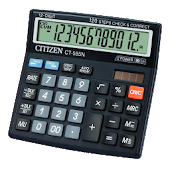 Citizen Calculator with Percentage