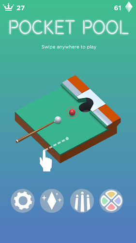 Pocket Pool Android App Screenshot