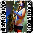 Learning to play the saxophone icon