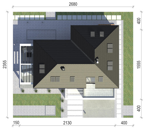 New House 7 - Sytuacja